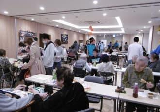 台風の影響で室内での開催となりましたが、多数の皆様が参加して下さり、盛況なイベントとなりました。