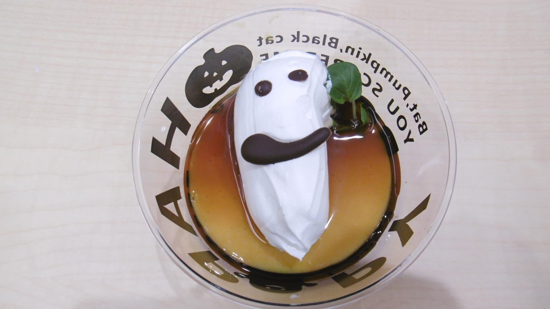 ハロウィンにちなんだパンプキンプリンやパンプキンケーキなどを提供する喫茶店を臨時オープン!
