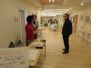 2月1日(土)2日(日)日野ヶ丘町内会の皆さまのご支援ご協力のもと、1階ホール 地域交流スペースに素晴らしい芸術作品の数々が展示されました。