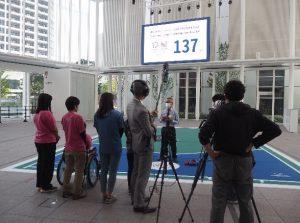当日のインストラクションやジャッジは、神奈川ボッチャ協会の会長に楽しく優しくご指導をいただきました。